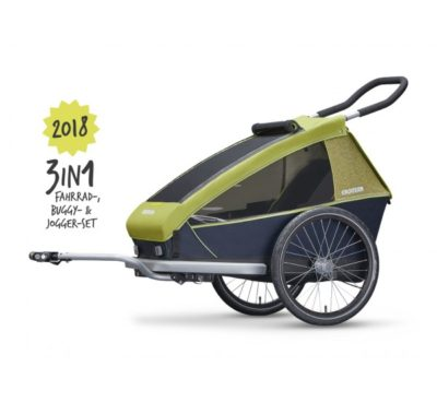Nieuw, nu ook bij Ad verkrijgbaar de CROOZER fietskar